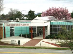 Martinsville Library in 1986